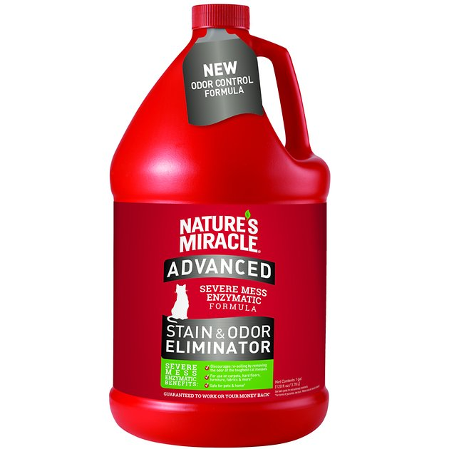 natures miracle, enzymatic cleaner, odor remover