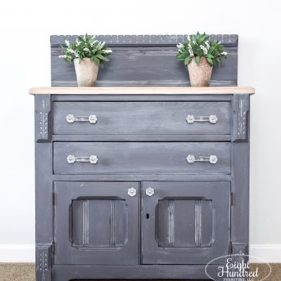 Queenstown Gray Washstand