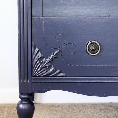 Coastal Blue Dresser