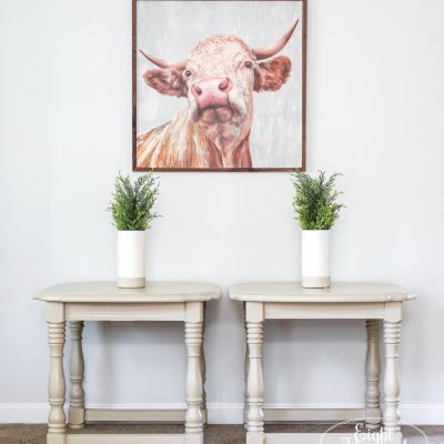 Millstone End Tables