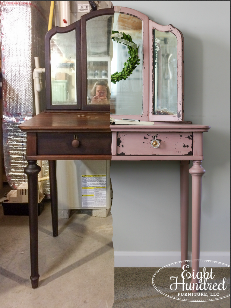 Arabesque Vanity - Eight Hundred Furniture