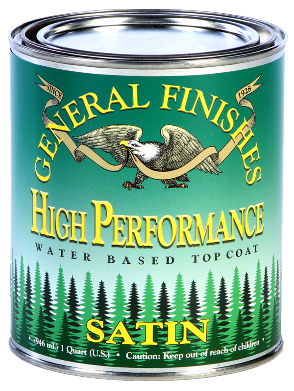 General Finishes High Performance Topcoat in Satin
