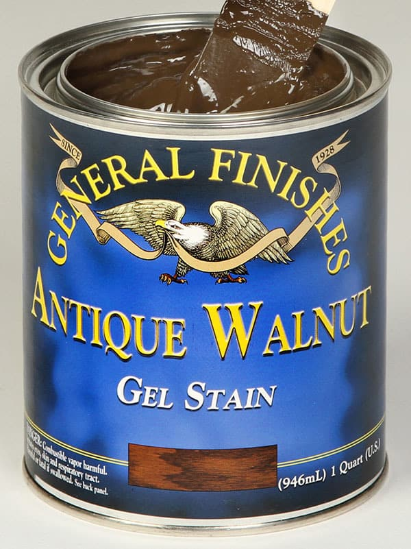 General Finishes Antique Walnut Gel Stain Quart