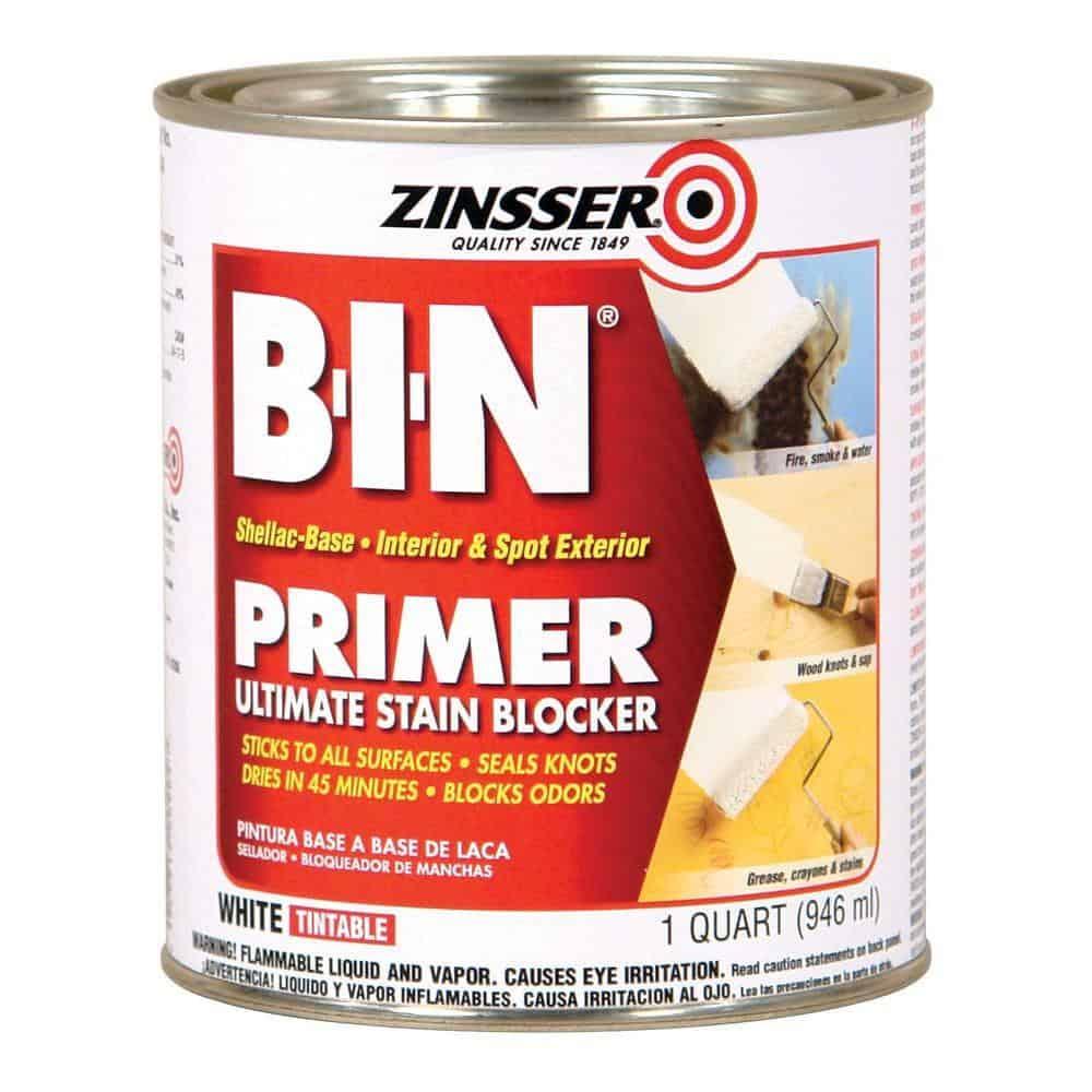 B-I-N Shellac Based Primer by Zinsser