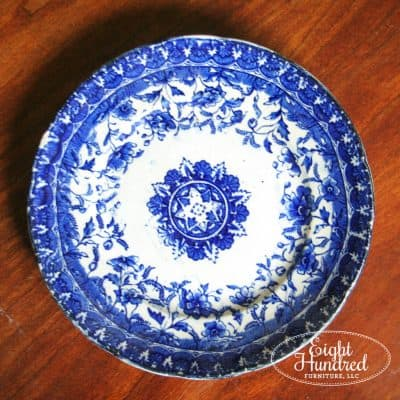 Ironstone and Flow Blue Antique Haul