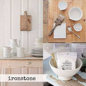 Ironstone Collage