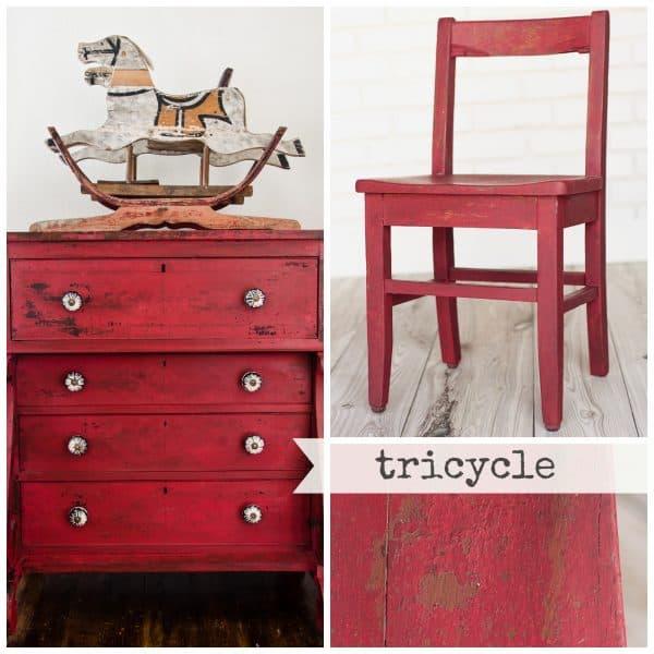 Tricycle, Miss Mustard Seed's Milk Paint, Milk Paint,