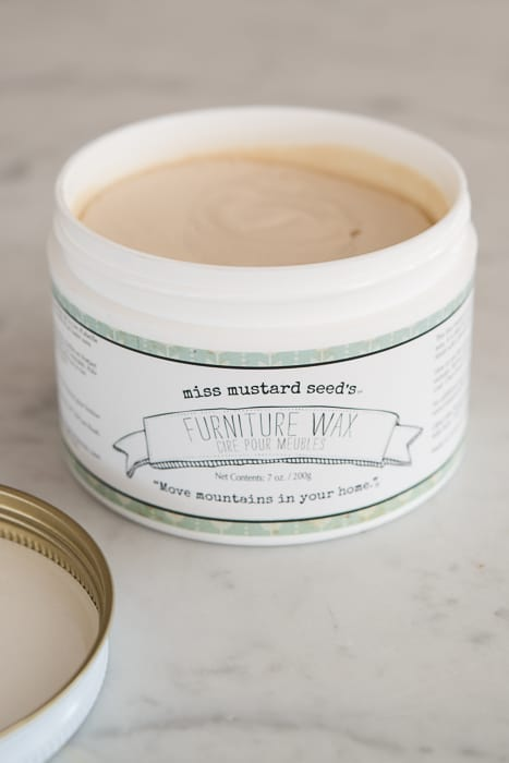 Furniture Wax by Miss Mustard Seed's Milk Paint