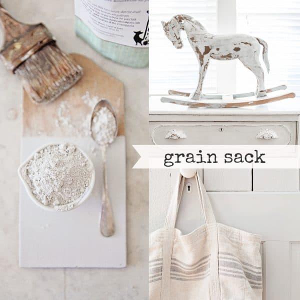 Grain Sack Collage