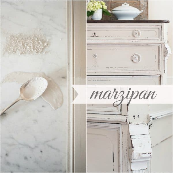 marzipan milk paint by miss mustard seed