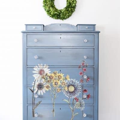 Wildflower Dresser Reveal