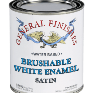 Brushable White Enamel