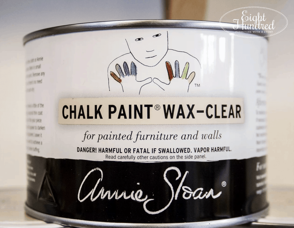 The Many Uses of Annie Sloan's Clear Soft Wax - Eight