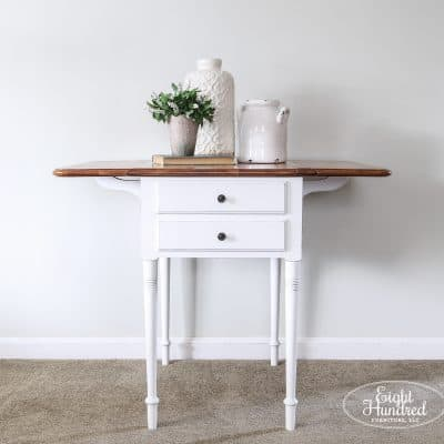Painting Furniture White – Part 1
