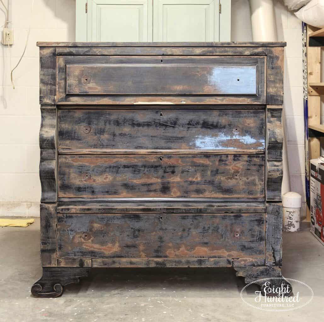 Empire dresser, prep sanded