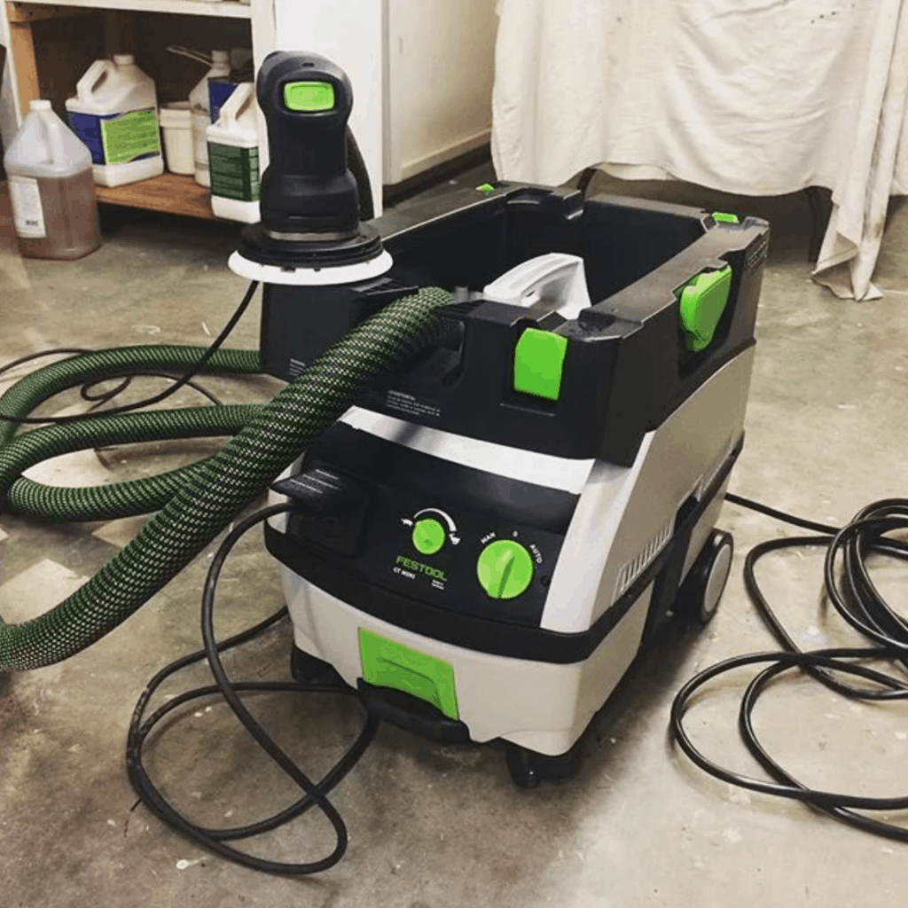 festool, mini, dust extractor
