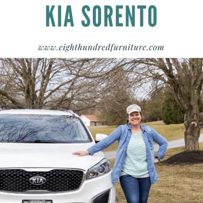 Our New Kia Sorento aka Marshmallow 2.0