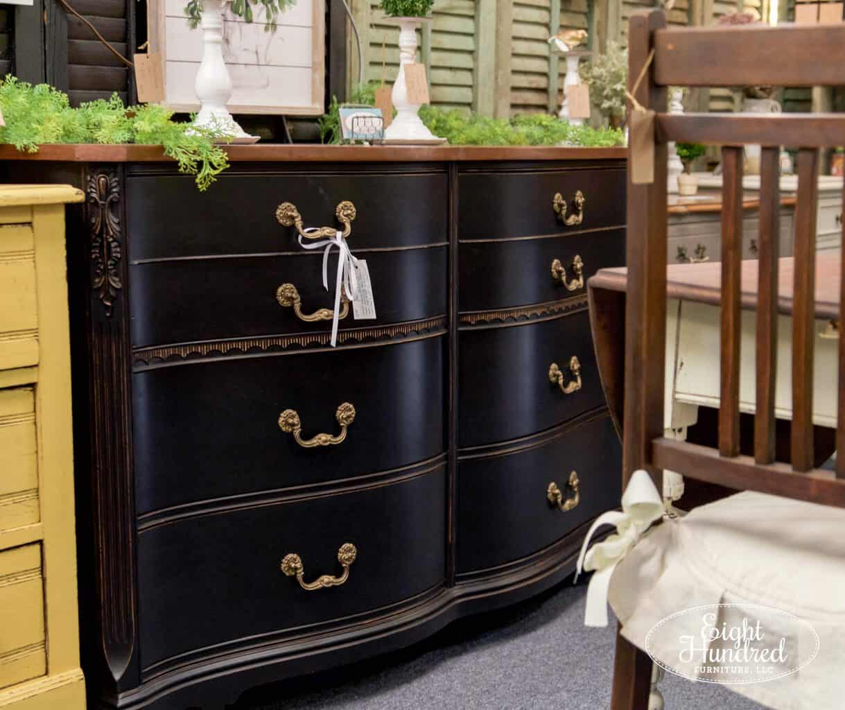 general finishes, lamp black, high performance topcoat, nutmeg gel stain, gel stain, buffet, morgantown market, morgantown pa, antique co-op, antique shop, eight hundred furniture