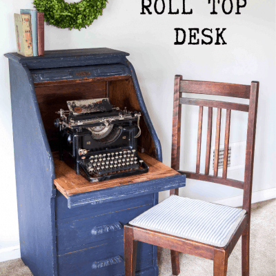 Artissimo Roll Top Desk