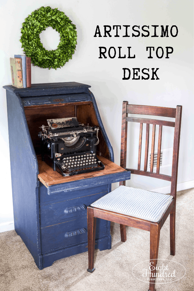 Pinterest Graphic Roll Top Desk in Artissimo