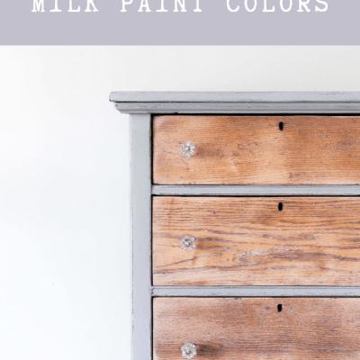 Creating Custom Milk Paint Colors