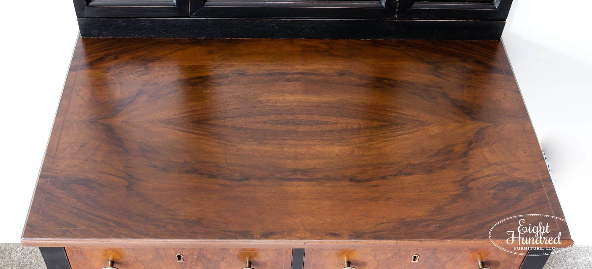 Antique Walnut Gel Stain, High Performance Topcoat, General Finishes, Eight Hundred Furniture