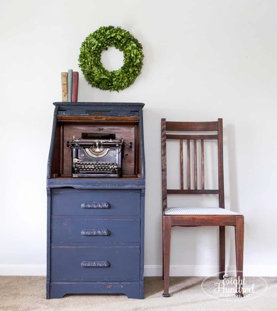 Hemp Oil, Artissimo, Miss Mustard Seed's Milk Paint, Eight Hundred Furniture, Roll Top Desk, Oak Desk, Antique Desk
