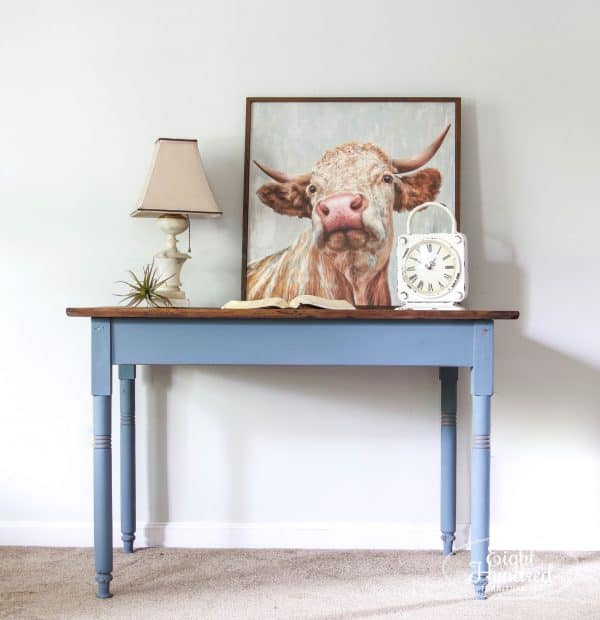 Miss Mustard Seed's Milk Paint, French Enamel, Trophy, Hemp Oil, Eight Hundred Furniture, Scrub Top Table, Antique Table