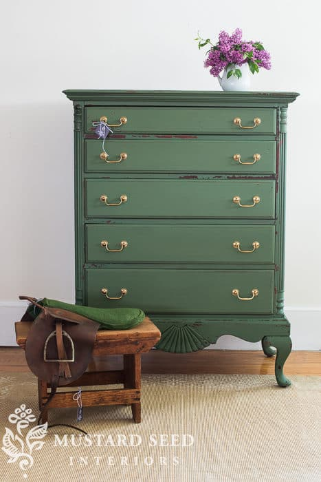 Boxwood Highboy Dresser