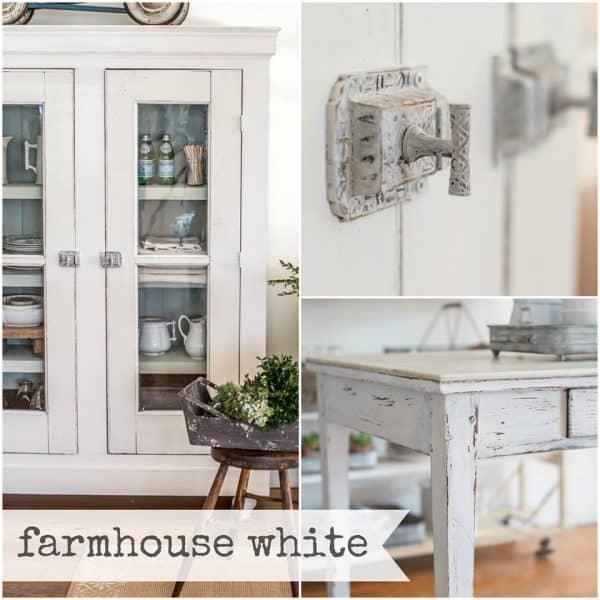 Farmhouse White Collage