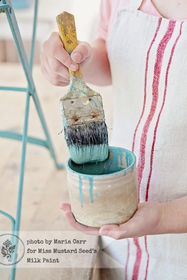 Kitchen Scale Milk Paint in a cup by Miss Mustard Seed's Milk Paint