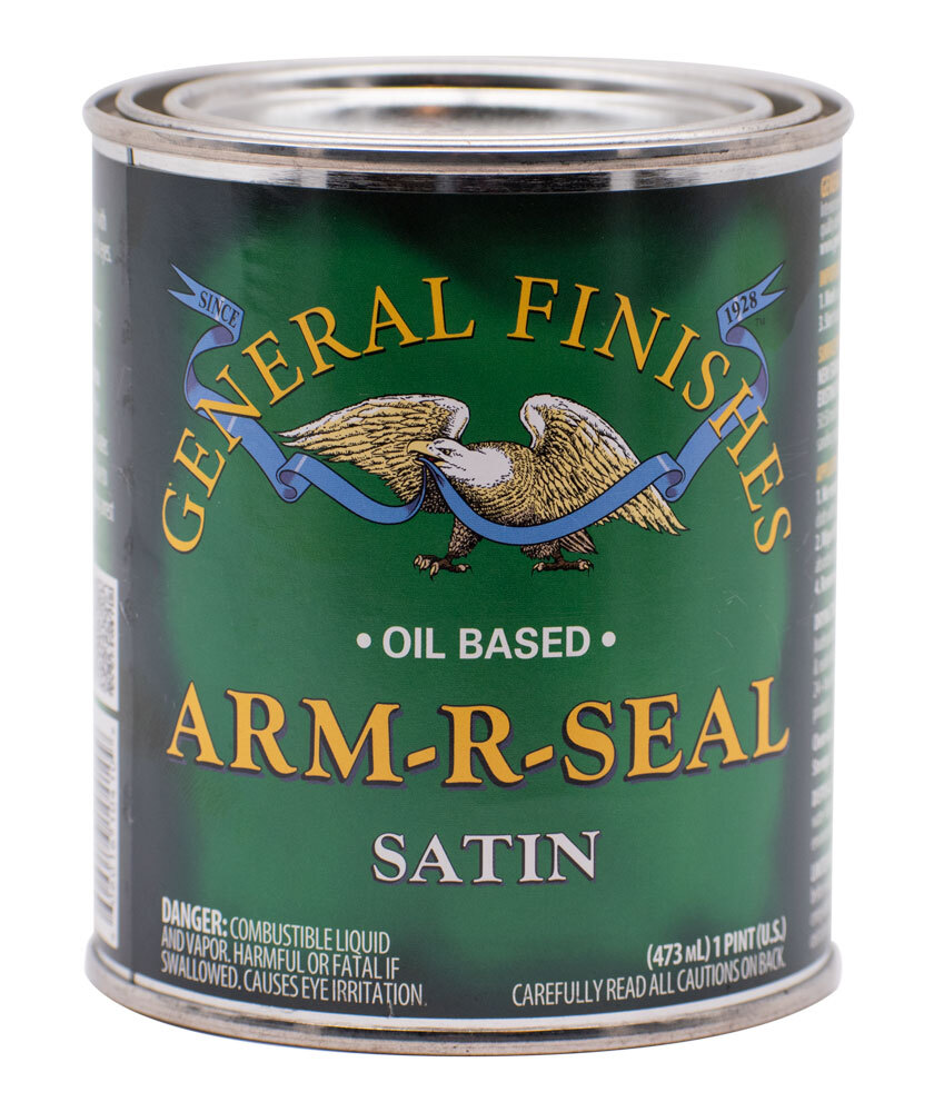 General Finishes Arm-R-Seal Oil Based Polyurethane Satin Pint