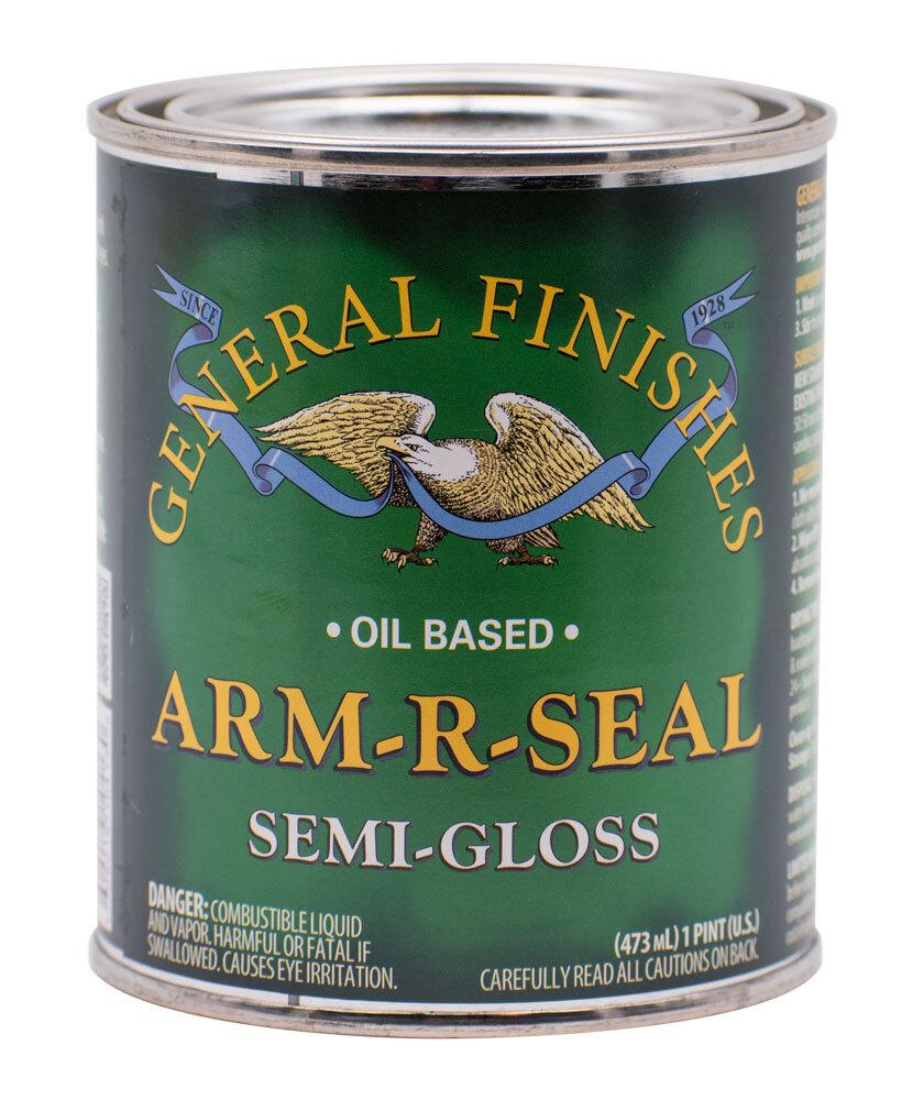 General Finishes Arm-R-Seal Oil Based Polyurethane Semi-Gloss Pint