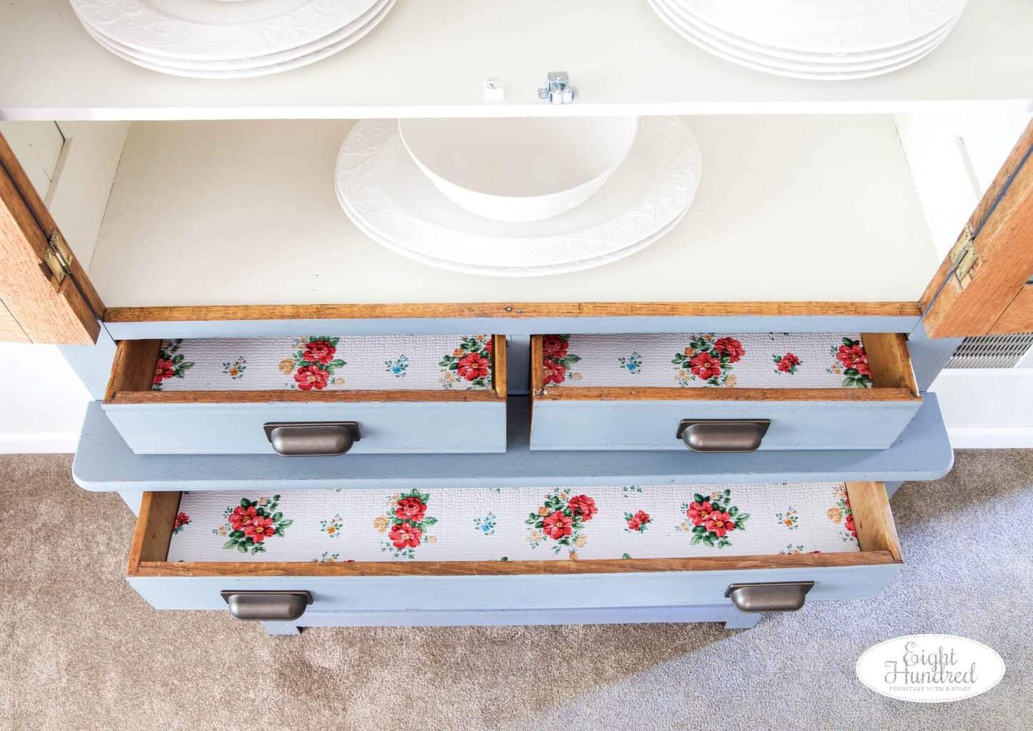 Pioneer woman drawer liner
