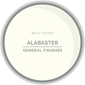 Alabaster Milk Paint Color Chip