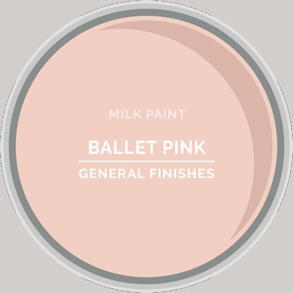 Ballet Pink Milk Paint Color Chip