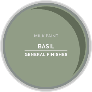 Basil Milk Paint Color Chip