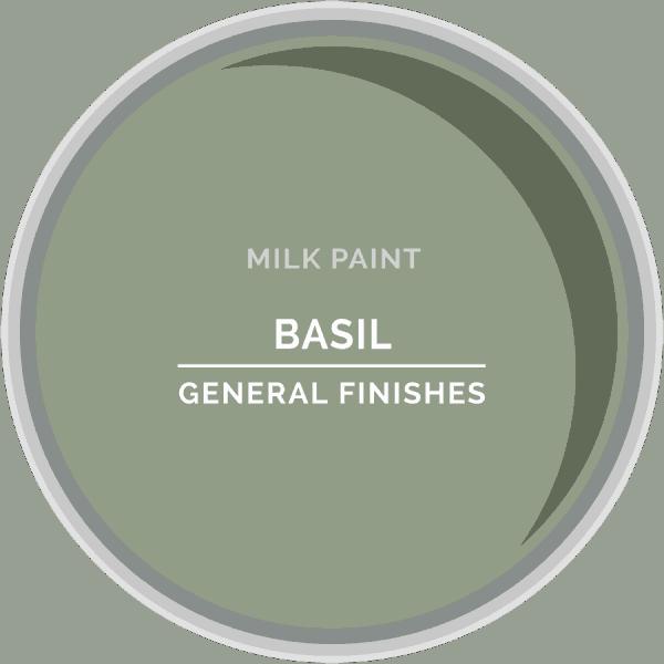 Basil Milk Paint Color Chip