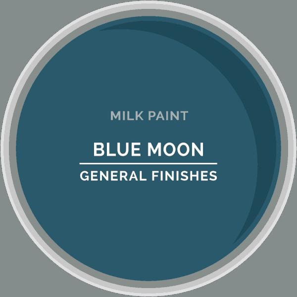 Blue Moon Milk Paint Color Chip