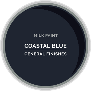 Coastal Blue Milk Paint Color Chip