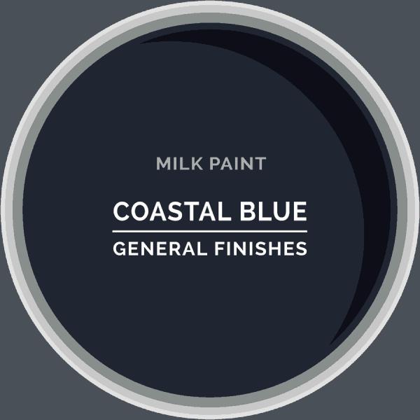 Coastal Blue Milk Paint Color Chip