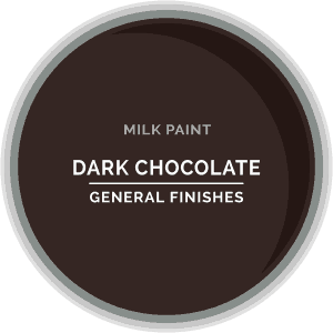 Dark Chocolate Milk Paint Color Chip