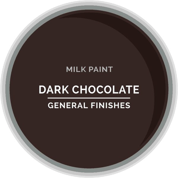 Dark Chocolate Milk Paint Color Chip