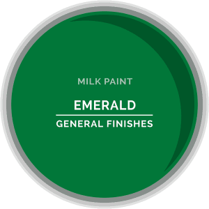 Emerald Milk Paint Color Chip