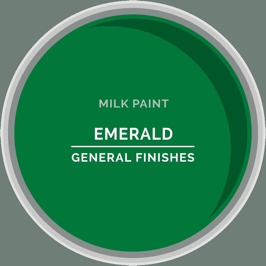Emerald Milk Paint Color Chip