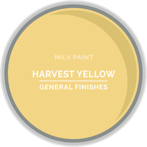 Harvest Yellow Milk Paint Color Chip