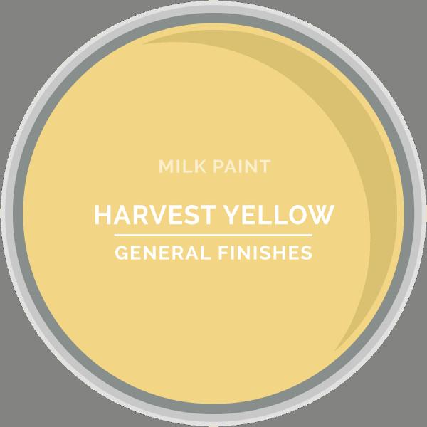 Harvest Yellow Milk Paint Color Chip
