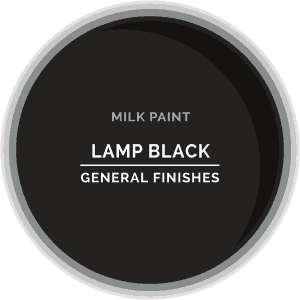 Lamp Black Milk Paint Color Chip