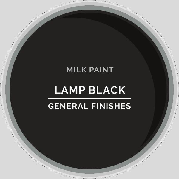 Lamp Black Milk Paint Color Chip