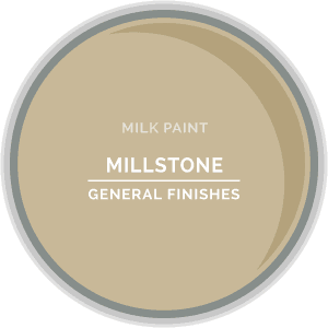 Millstone Milk Paint Color Chip